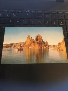 Vintage Postcard; Phantom Ship, Crater Lake National Park