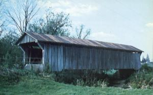 Buckskin Creek Covered Bridge - South Salem, Ohio