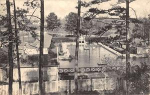 Warm Springs Georgia Public Pool Birdseye View Antique Postcard K68692