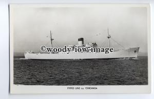 cb0276 - Fyffes Cargo Ship - Reefer - Chicanoa , built 1958 - postcard
