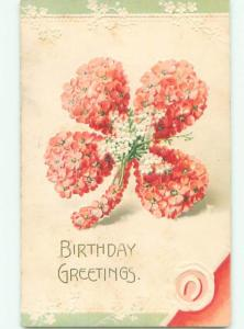 Divided-Back BEAUTIFUL FLOWERS SCENE Great Postcard AA3348