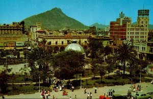 Texas Lower Rio Grande Valley Portion Of Downtown Of Monterrey Old Mexico