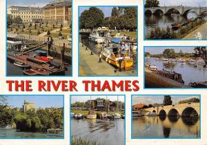 The River Thames multiviews RIchmond Shepperton Richmond Sanbury Windsor Castle