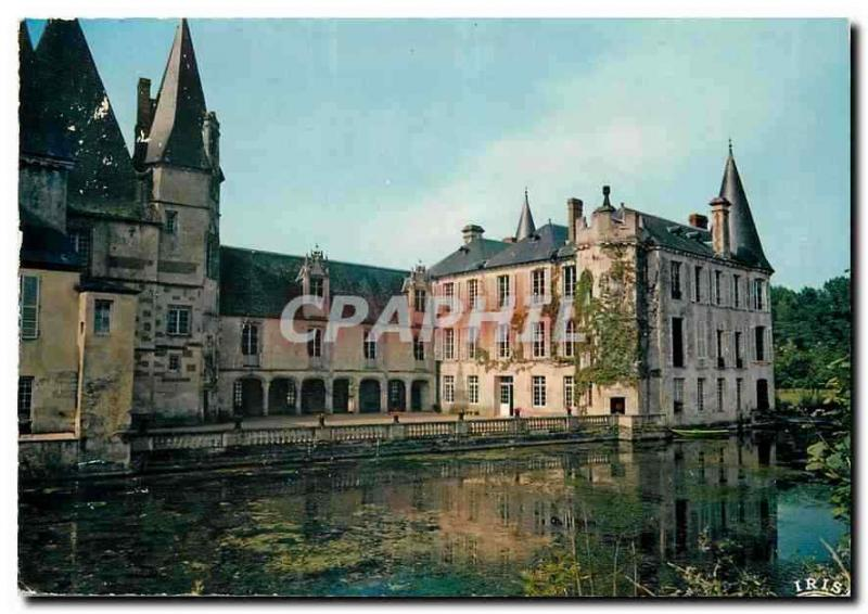 Modern Postcard In Normandy Mortree the Castle of O Style Renaissance