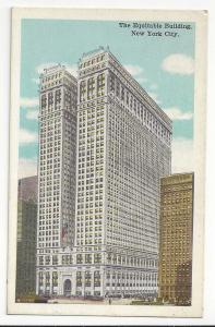 New York City NY Equitable Building Vintage Postcard