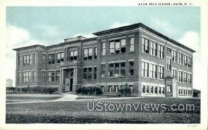 Avon High School in Avon, New York
