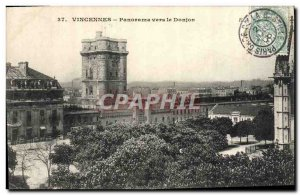 Postcard Old Vincennes Panorama To Keep