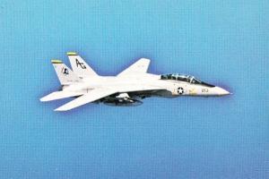 Grumman Tomcat American Carrier USS Dwight Eisenhower Plane Formation Postcard