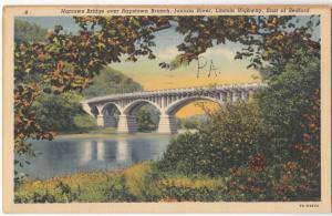 Narrows Bridge over Raystown Branch, Juniata River, Lincoln Highway, PA