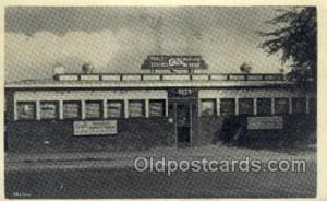 Arts Diner, Bradensburg, NE USA Restaurant Old Vintage Antique Postcard Post ...