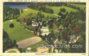 Brandeis Camp Institute on Highland Lake Hendersonville NC 1953