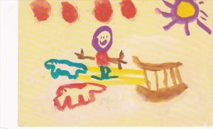 Expo86 artwork by Tony Etunga (Age 6) , SPENCE BAY , NWT , Canada
