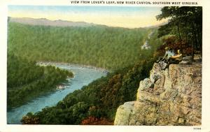 WV - New River Canyon, Lover's Leap