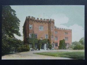 Hertfordshire HERTFORD The Castle c1905 Postcard by H. Pratt of Hertford