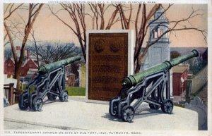 [ Phostint ] US Massachusetts Plymouth - Tercentenary Cannon