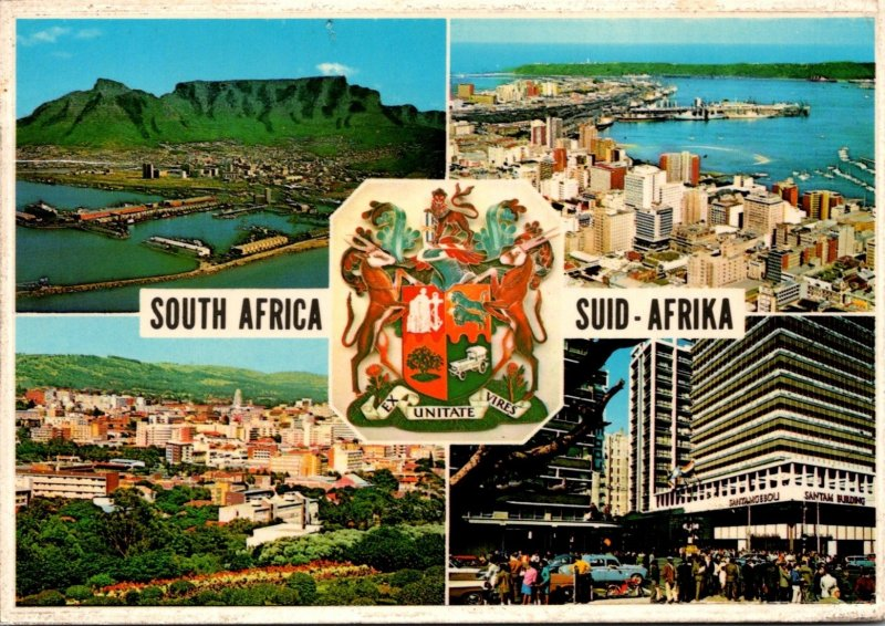South Africa Multi View Cape Town Durban Pretoria and Johannesburg 1971