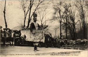 CPA Au Pays Basque - Danseur de la Soule - Saldia - Le Chval (167945)