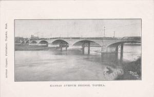 TOPEKA, Kansas, 1900-1910's; Kansas Avenue Birdge