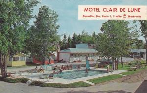 Swimming Pool, Water Slide, Claire de Lune Motel, Deauville, Quebec, Canada, ...
