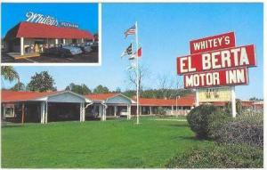 2Views, Whitey's Restaurant & El Berta Motor Inn, Wilmington, North Carolina,...