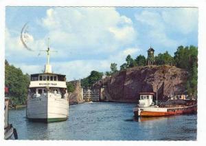 Sweden. Trollhattan. I slussdammen, PU 1968