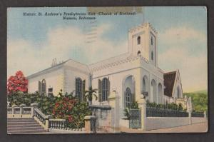 St Andrew's Presbyterian Kirk, Nassau, Bahamas - Used 1960 - Tape Mark
