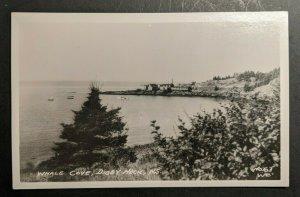Ungebraucht Vintage Wal Bucht Digby Heck Nova Scotia Kanada Echt Foto Postkarte