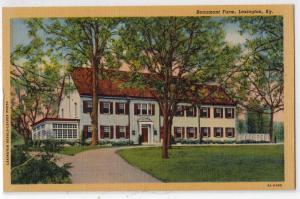 Beaumont Farm, Lexington KY