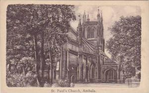India Ambala St Paul's Church