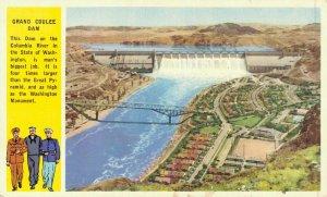 USA Grand Coulee Dam Columbia River 04.73