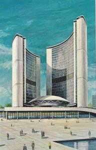 New City Hall , TORONTO , Ontario ,Canada , 40-60s