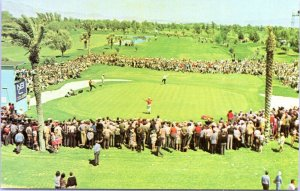 Las Vegas Paradise Nevada Desert Inn Country Club Golf Course 1960s Postcard LI