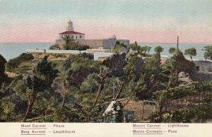 MONT CARMEL , ISRAEL , 1900-10s ; Phare - LIGHTHOUSE