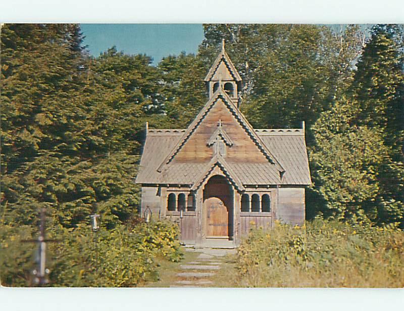 Unused Pre-1980 BOYINGTON CHURCH Baileys Harbor Wisconsin WI v5711