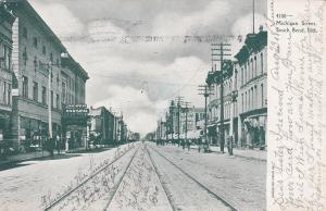 SOUTH BEND, Indiana: PU-1908; Michigan Street