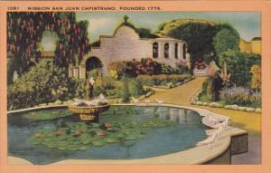 California San Juan Capistrano Mission San Juan Capistrano Founded 1776