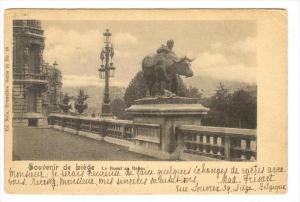 Souvenir de Liege , Belgium, PU-1898   Le Boef au Repos