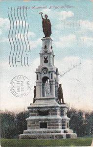 Connecticut Bridgeport Soldiers Monument 1906