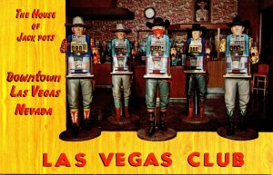 Nevada Las Vegas The Las Vegas Club House Of Jack Pots
