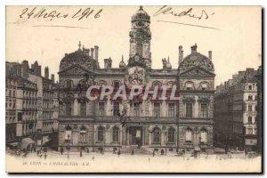 Postcard Old Lyon Town Hall