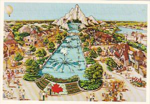 International Street Wonderland Theme Park Toronto Ontario Canada