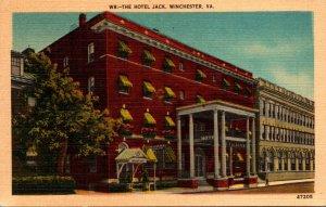 Virginia Winchester Hotel Jack 1950
