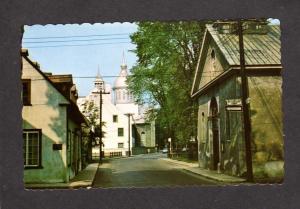 Rue Ursulines Trois Riviere Trois-Riviere Quebec Canada Carte Postale Postcard