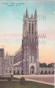 North Carolina Durham Chapel Duke University 1936 Albertype