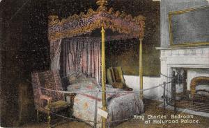 uk25239 king charles bedroom holyrood palace scotland uk