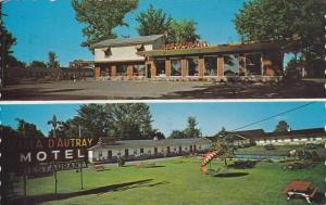 2-views,  Motel Villa D'Autray, on Hwy 2.,   Berthierville,  Quebec,  Canada,...