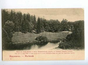 225408 RUSSIA PAVLOVSK view Peel tower DE #31 early postcard