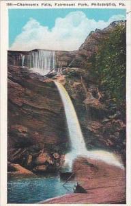 Pennsylvania Philadelphia Chamounix Falls Fairmount Park