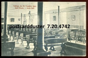 4742 - ST. CESAIRE Quebec Postcard 1912 College Interior
