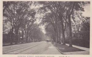 New York Utica Genesee Street Residence Section Albertype